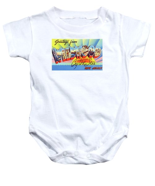 Wildwood Greetings - Version 1 Baby Onesie