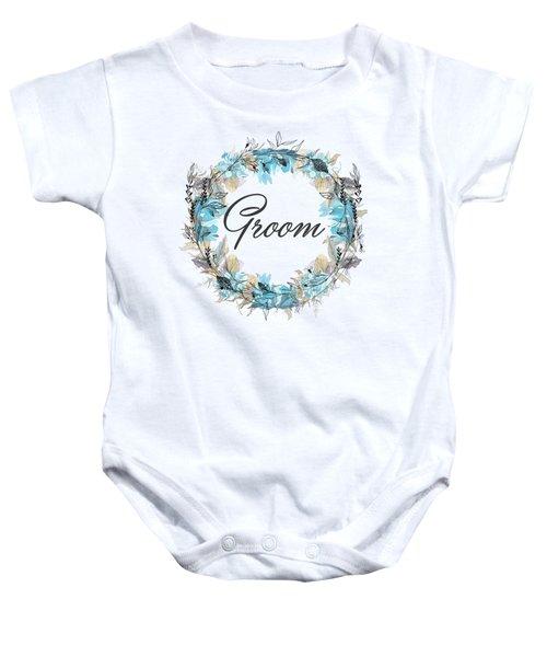 Groom Baby Onesie