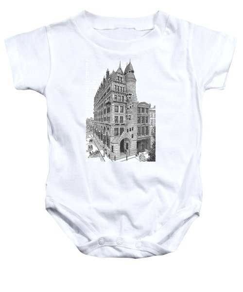 Hale Building Baby Onesie