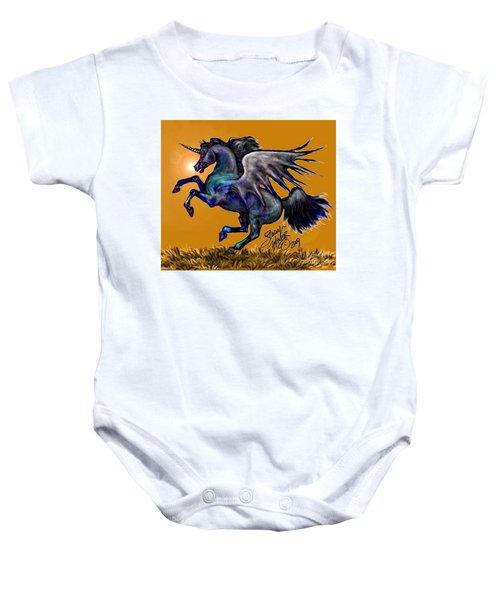 Halloween Fantasy Horse Baby Onesie