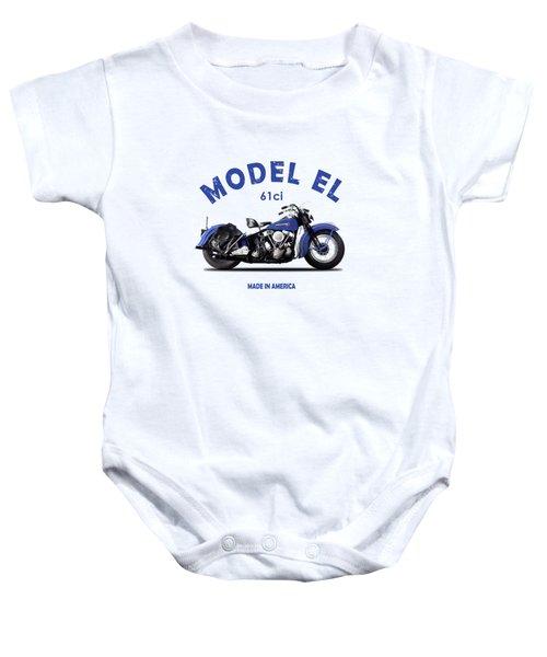 Harley-davidson El 1948 Baby Onesie
