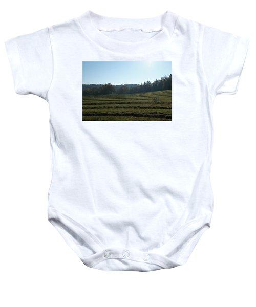 Haymaking Baby Onesie