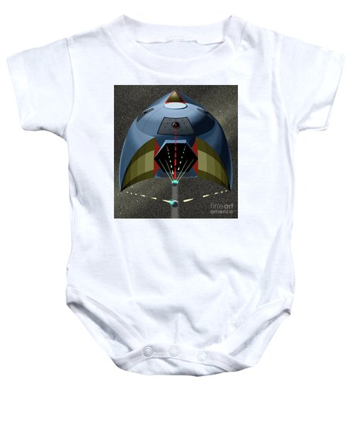 Head On Attack Baby Onesie