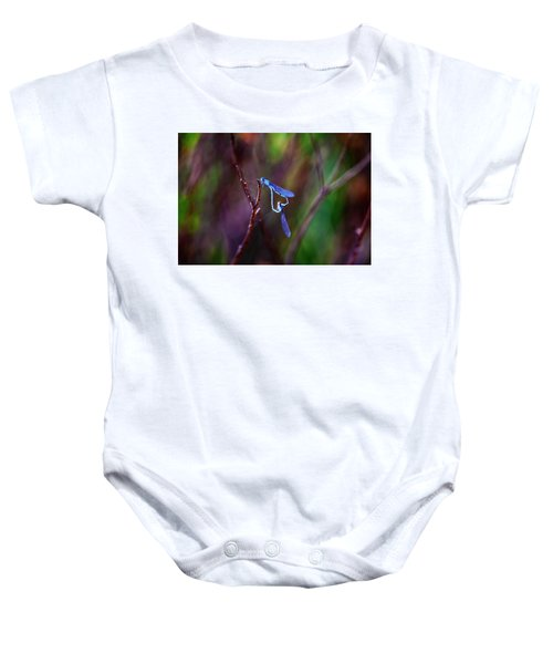 Heart Of Dragonfly Baby Onesie