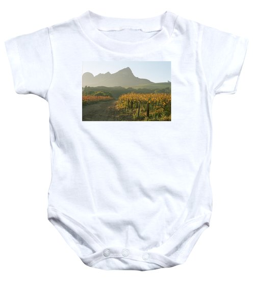 Helderburg Vineyard Baby Onesie