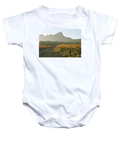 Helderburg Vineyard Baby Onesie