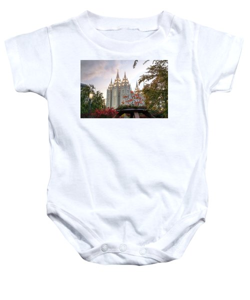 House Of The Lord Baby Onesie