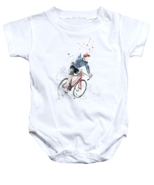 I Want To Ride My Bicycle Baby Onesie