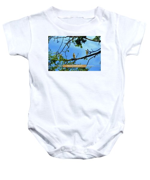 Ibis Perch - Virgin Nature Series Baby Onesie