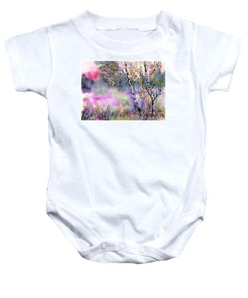 Idyllic Meadow Baby Onesie