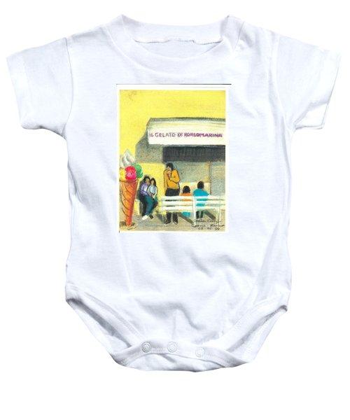 Il Gelato De Borgo Marina Baby Onesie