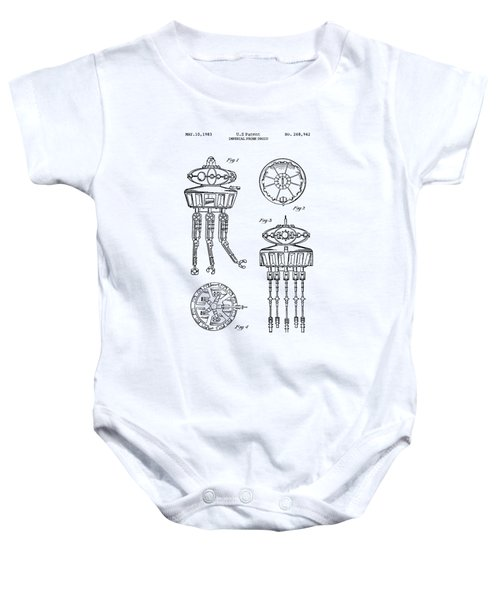 Imperial Probe Droid Baby Onesie