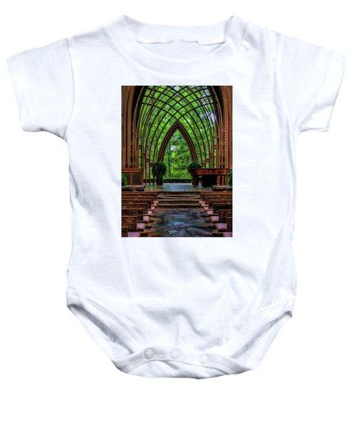 Inside The Chapel Baby Onesie