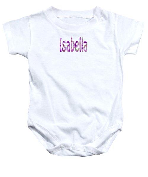 Isabella Baby Onesie
