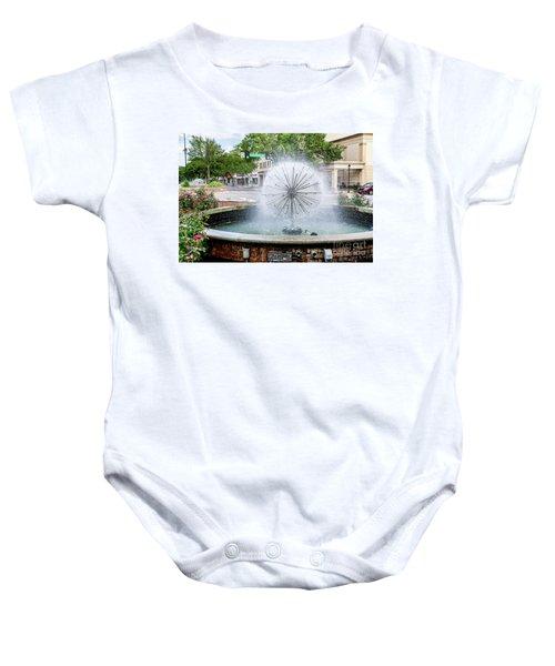 James Brown Blvd Fountain - Augusta Ga Baby Onesie