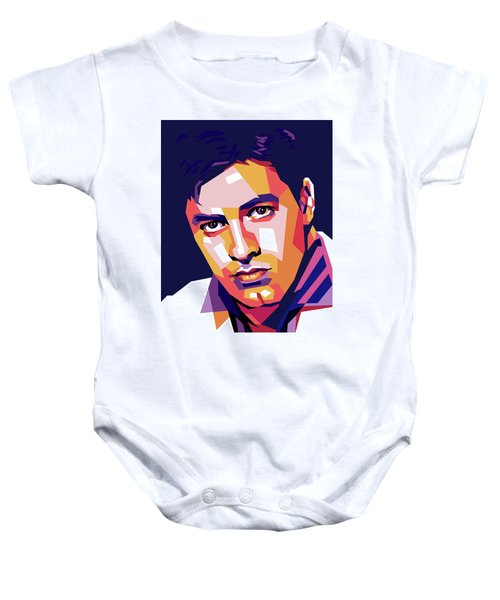 Jerry Lewis Illustration Baby Onesie