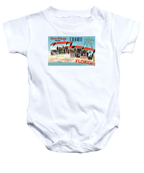 Key West Greetings Baby Onesie