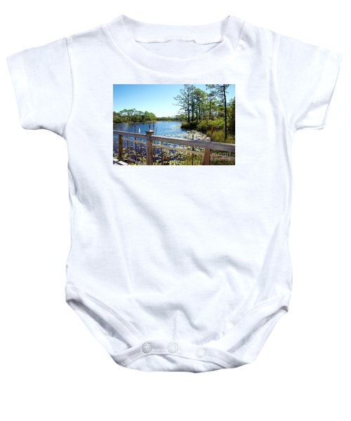 Lake View Baby Onesie