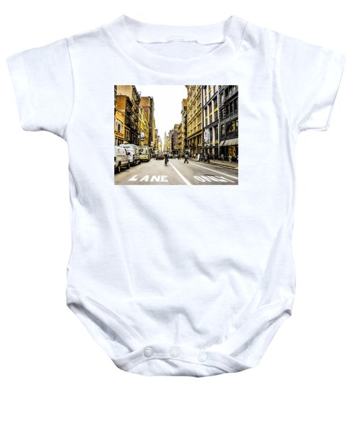 Lane Only  Baby Onesie