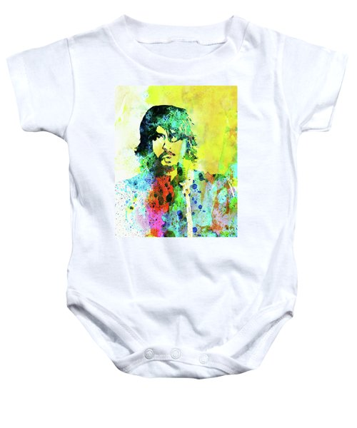 2a29f0f63 Legendary Foo Fighters Watercolor Baby Onesie