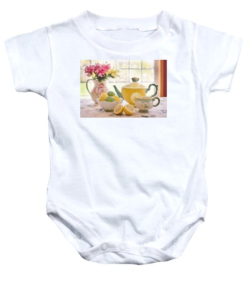 Lemon Tea  Baby Onesie