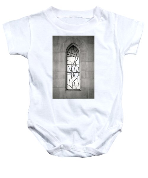Lone Cathedral Window Baby Onesie