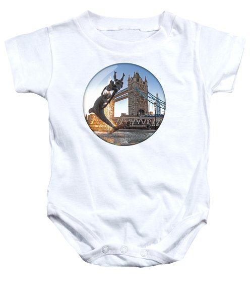 Lost In A Daydream - Floating On The Thames Baby Onesie