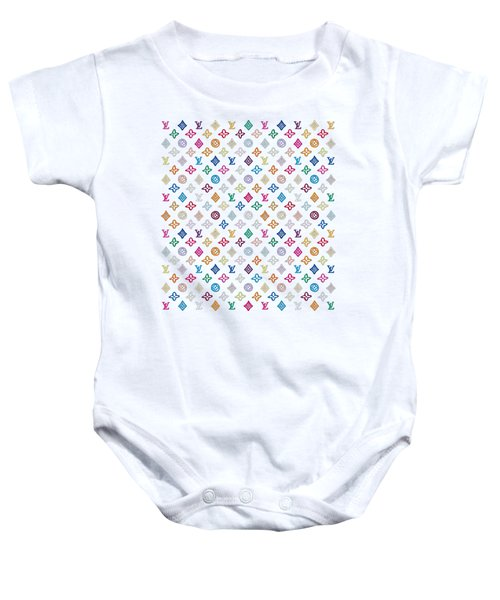Louis Vuitton Monogram-1 Baby Onesie