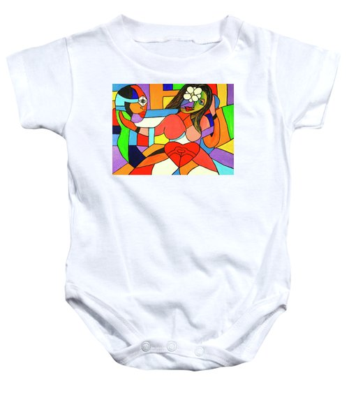 Love And Be Loved Baby Onesie