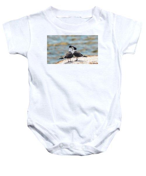 Love Birds Baby Onesie