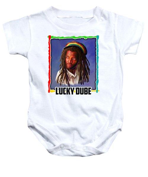 Lucky Dube Baby Onesie
