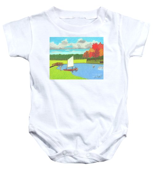 Testing The Waters Baby Onesie