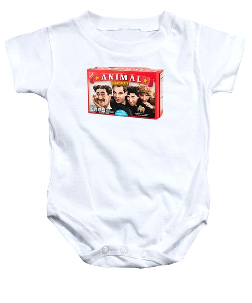 Marx Animal Crackers Baby Onesie