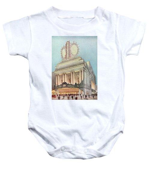 Mastbaum Theatre Baby Onesie