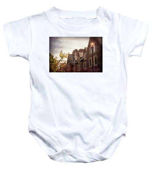 Mayslake Historic Home Baby Onesie