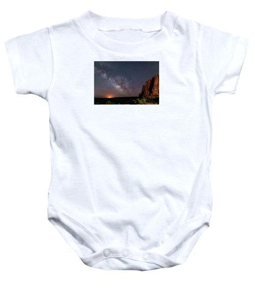Milky Way At Navajo Rocks Baby Onesie