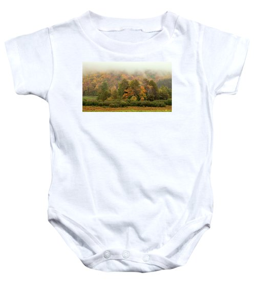 Misty Mountain Baby Onesie