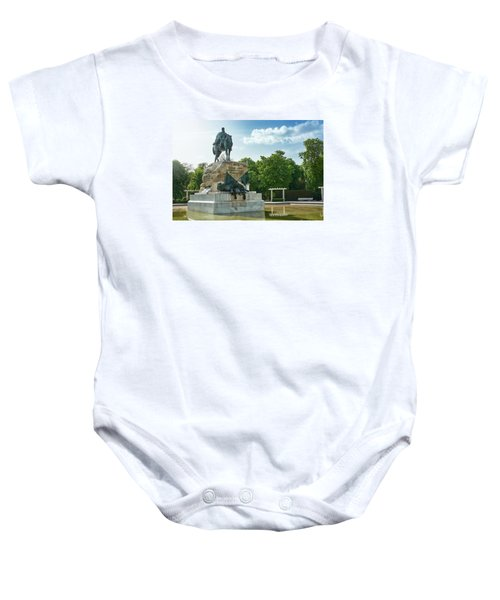 Monument To General Arsenio Martinez Campos In Madrid, Spain Baby Onesie