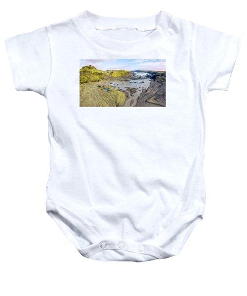 Mountain Glacier Baby Onesie