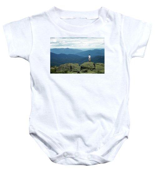 Mountain Top Baby Onesie