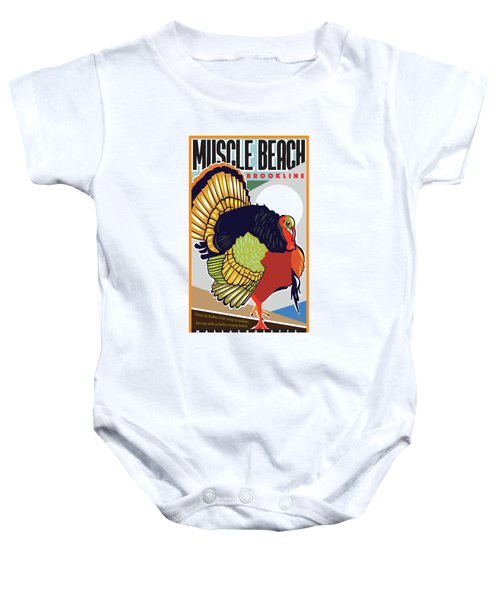 Muscle Beach Baby Onesie