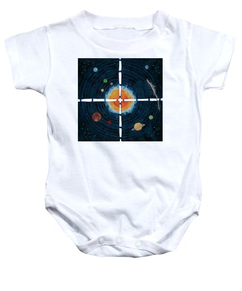 My Very Educated Mother  Just Said Uh-oh, No Pluto Baby Onesie
