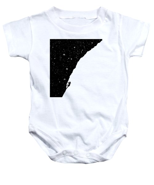 Night Climbing Baby Onesie