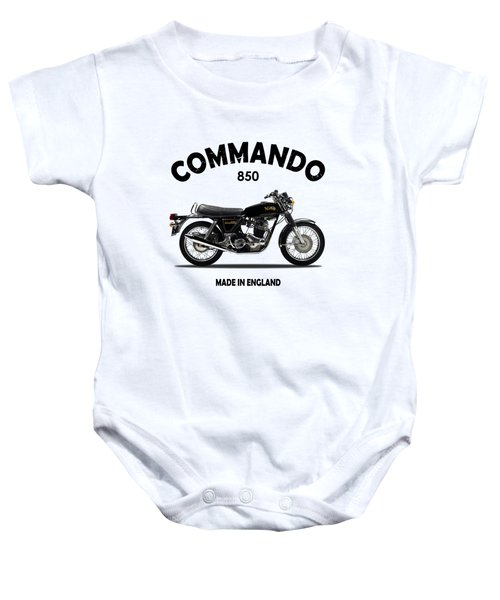 Norton Commando 1974 Baby Onesie