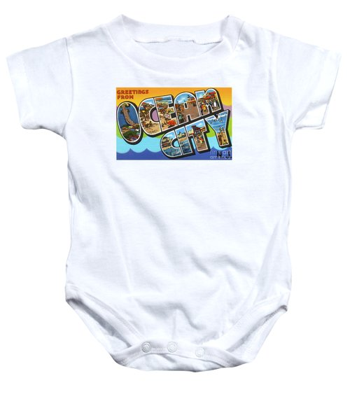 Ocean City Greetings Baby Onesie