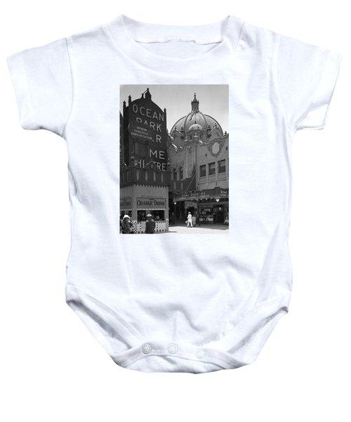 Ocean Park Pier 1920 Baby Onesie