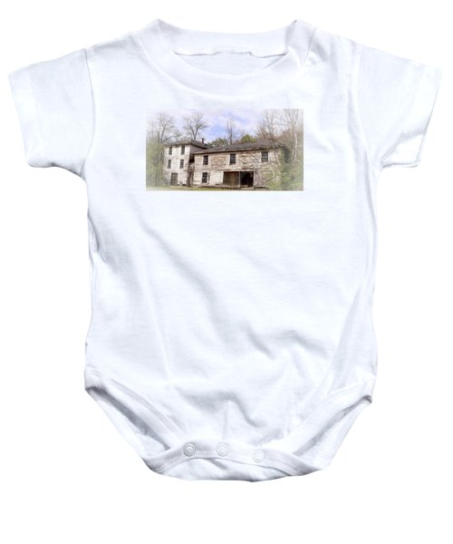 Old Abandoned House In Fluvanna County Virginia Baby Onesie