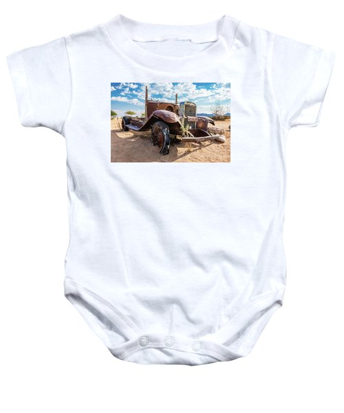 Old And Abandoned Car 3 In Solitaire, Namibia Baby Onesie