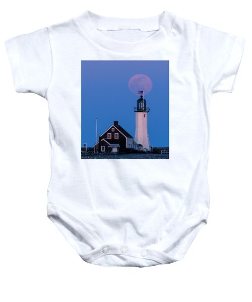 Old Scituate Light Baby Onesie