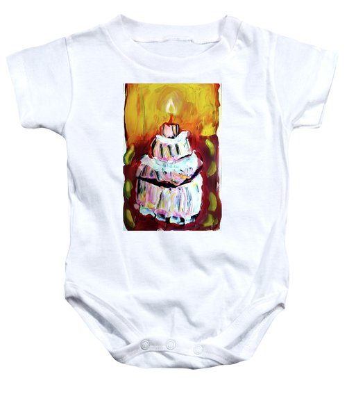 One Candle Baby Onesie